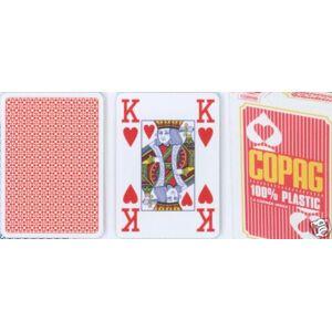 Copag Copag Jumbo 2073 Poker karty 4 rohy Red