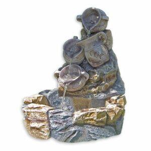 Zahradní kašna - fontána džbánky 70 x 83 x 75 cm M01427