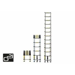 G21 GA-TZ9 Teleskopický žebřík -2,6M hliníkový