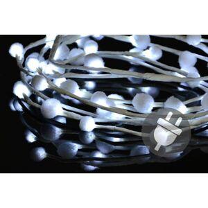 Nexos 33483 Vánoční LED osvětlení - sněhové vločky - 48 LED, studená bílá