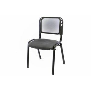 Stohovatelná kongresová židle - šedá Garthen D38253