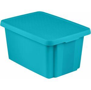 CURVER Úložný box s víkem 45L - modrý R41149