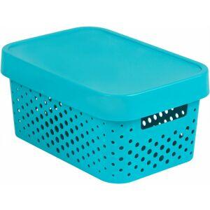 CURVER Úložný box INFINITY DOTS 4,5L - modrý R41568