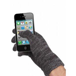 rukavice na ovládání dotykových displejů šedé