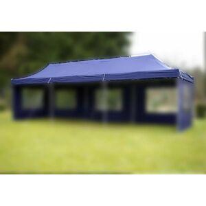 Garthen 46978 Náhradní střecha k párty stanu 3 x 9 m - modrá