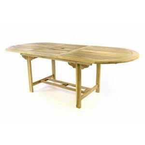 Divero Zahradní oválný stůl D47273