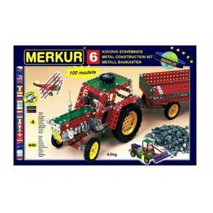 MERKUR 6 Stavebnice 100 modelů 9vrstvy v krabici 54x36x6cm