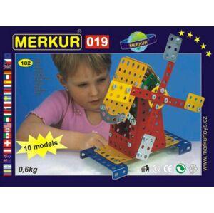 MERKUR Mlýn 019 Stavebnice 10 modelů 182ks v krabici 26x18x5cm