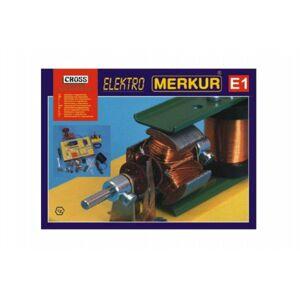 MERKUR E1 Stavebnice elektřina, magnetizmus v krabici 36x28x8cm