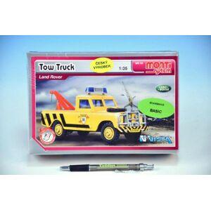 Vista Monti 56 Tow Truck Land Rover v krabici 22x15x6cm 1:35