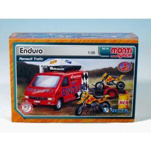 Monti Enduro Renault Trafic Stavebnice 1:3v krabici 22x15x6cm