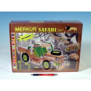 Merkur SAFARI Stavebnice Set 76v krabici 36x27x8cm