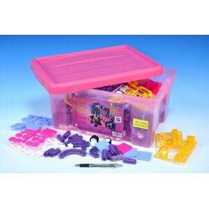 Seva pro holky 1 Jumbo plast 1172ks v plastovém boxu 41x29x20cm