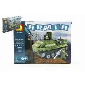 Dromader 22408 Vojáci Auto Tank 199 ks