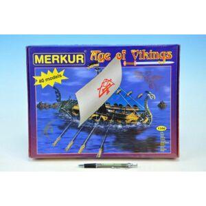 MERKUR Age of Vikings Stavebnice modelů 13v krabici 36x27x5,5cm