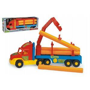 Wader Auto Super Truck stavební s rourami 76cm