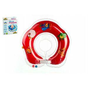 Teddies Flipper/Kruh 48439 Plavací nákrčník červený v krabici 17x20cm 0+