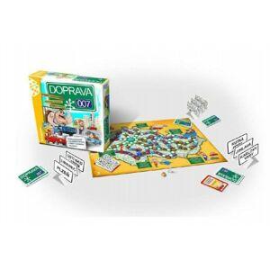 DOPRAVA 007 rodinná společenská hra 30x30x8cm v krabici