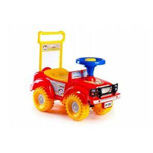 Yupee Odrážedlo auto červené v krabici od 12 do 3měsíců