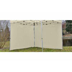 Garthen 426 Sada 2 bočních stěn pro PROFI zahradní stan 3 x 3 m - krémová