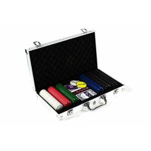 Garthen 498 Poker set 300 ks žetonů s příslušenstvím