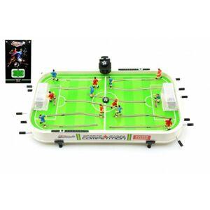 Teddies 50872 Kopaná/Fotbal společenská hra 60x36x8cm plast kovová táhla bez počítadla v krabici