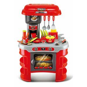 G21 51656 Dětská kuchyňka Malý kuchař červená