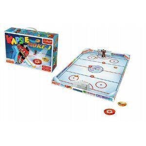 Teddies 54424 Hra hokej vrchnáčky plast