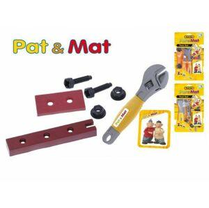 Sada nářadí plast Pat a Mat asst 3 druhy na kartě 18x30x2cm
