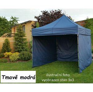 Tradgard PROFI STEEL 56936 Zahradní párty stan 3 x 4,5 - tmavě modrá