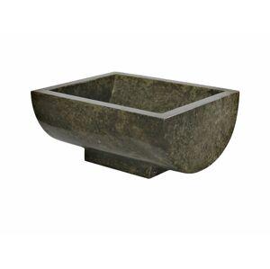 Indera Gratia Black 57050 Umyvadlo z přírodního kamene