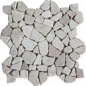 Indera Kuta White 57096 1m2 Mozaika z mramoru