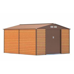 G21 GAH 884 Zahradní domek - 277 x 319 cm, hnědý