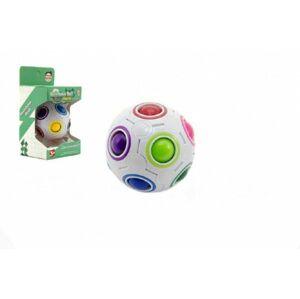 Teddies 58176 Hlavolam míček plast 7cm v krabičce