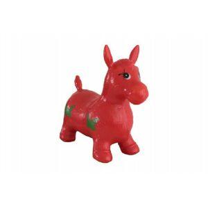 Intex hopsadlo kůň skákací gumový červený 49x43x28cm