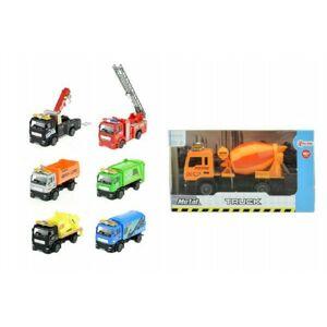 Teddies 58412 Auto nákladní kov/plast 12cm na zpětné natažení
