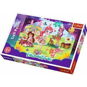 Teddies 58662 Puzzle Enchantimals 41x27,5cm 160 dílků v krabici 29x19x4cm
