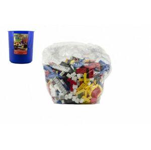 Cheva Stavebnice Koš Plný Kostek plast 2 kg v plastovém boxu v síťce