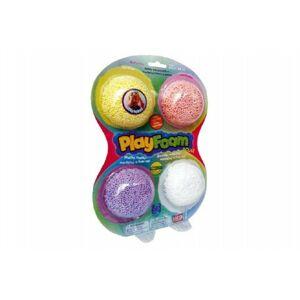 Teddies PlayFoam 60033 Modelína/Plastelína kuličková 4 barvy na kartě 18x27x4cm