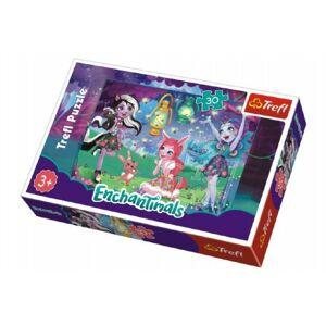 Puzzle Enchantimals 30 dílků v krabičce 21x14x4cm
