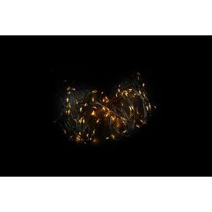 Nexos 57409 LED osvětlení - stříbrný drát - 80 LED teple bílá