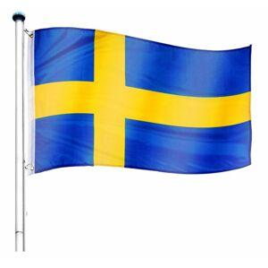 Tuin 60935 Vlajkový stožár vč. vlajky Švédsko - 6,50 m