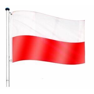 Tuin 60938 Vlajkový stožár vč. vlajky Polsko - 6,50 m