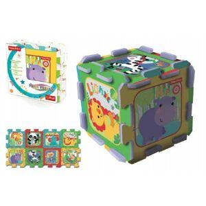 Fisher Price Pěnové puzzle 8ks 32x32x1cm v sáčku