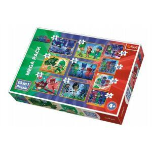 Puzzle PJ Masks 10v1 v krabici 40 x 27 x 6 cm