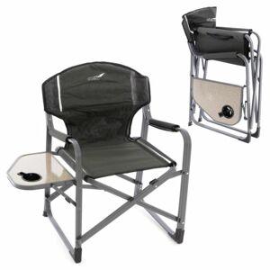 Divero 66333 Sada 2 x kempinková židle se stolkem a držákem nápojů