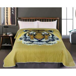 JAHU TYGR Přehoz přes postel 140 x 220 cm