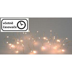 Vánoční LED osvětlení 8 m - 80 LED, teplá bílá