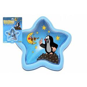 Lampička Krtek na zavěšení plast hvězda 15 cm na kartě