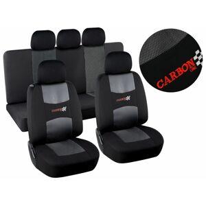 Potahy sedadel Airbag Dark, sada 9 ks